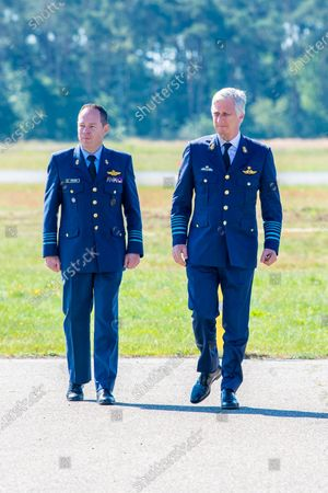 Editorial picture of King Philippe visit to Kleine-Brogel air base, Belgium - 24 Jun 2020