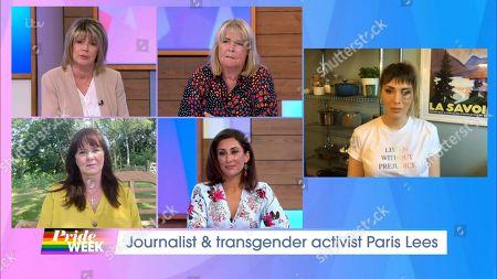 Ruth Langsford, Linda Robson, Coleen Nolan, Saira Khan and Paris Lees