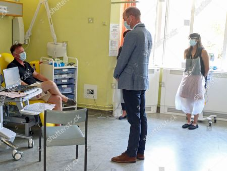 Editorial photo of Prince William visit to Churchill Hospital, Oxford, UK - 24 Jun 2020