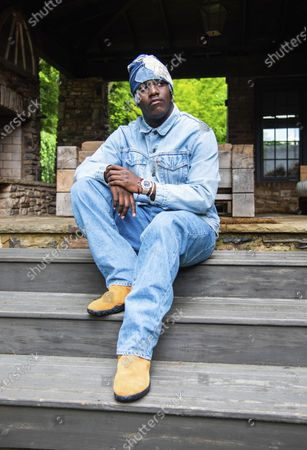 Editorial photo of Lil Yachty Portrait Session, Atlanta, United States - 29 May 2020