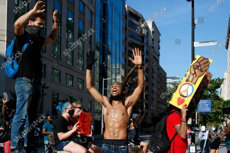 Editorial image of Racial Injustice , Washington, United States - 24 Jun 2020