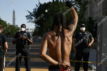 Editorial picture of Racial Injustice , Washington, United States - 24 Jun 2020