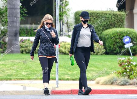 Katherine Schwarzenegger and Maria Shriver