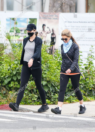 Editorial image of Katherine Schwarzenegger and Maria Shriver out and about, Los Angeles, USA - 24 Jun 2020