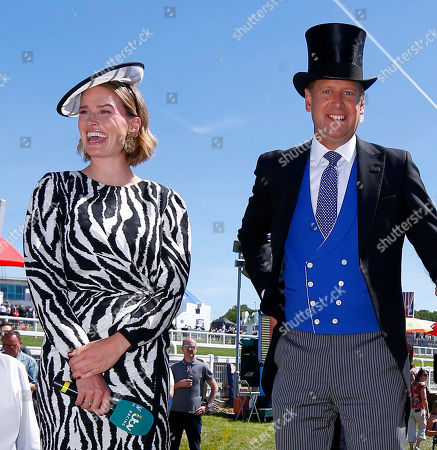 Stock Picture of Francesca Cumani and Ed Chamberlin.