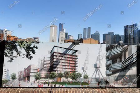 Editorial picture of Westferry Printworks Development, London, UK - 25 Jun 2020