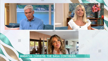 Phillip Schofield, Holly Willoughby, Lizzie Cundy