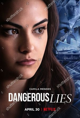 Dangerous Lies (2020) Poster Art. Camila Mendes as Katie and Jessie T. Usher as Adam