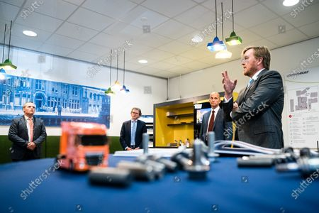 Editorial photo of King Willem-Alexander visit to Nedschroef, Helmond, The Netherlands - 25 Jun 2020