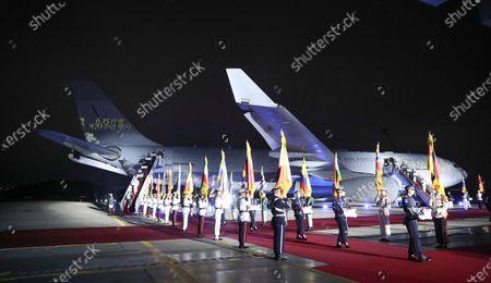 Editorial picture of Korean War anniversary observed in Incheon, Seongnam, Korea - 25 Jun 2020