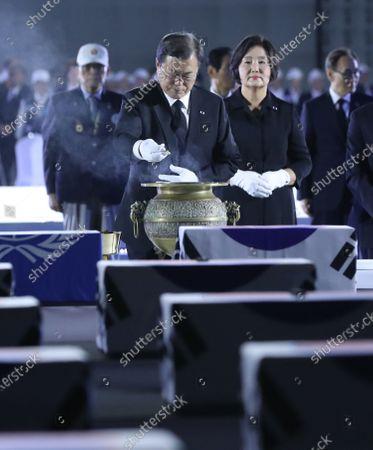 Editorial photo of Korean War anniversary observed in Incheon, Seongnam, Korea - 25 Jun 2020