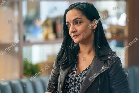 Stock Image of Archie Panjabi as Fiona Hatwal