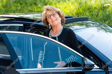 Editorial picture of Princess Margriet visit to the Red Cross, Utrecht, The Netherlands - 25 Jun 2020