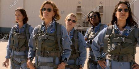 Jodi Balfour as Ellen Waverly/Ellen Wilson, Sonya Walger as Molly Cobb, Sarah Jones as Tracy Stevens, Krys Marshall as Danielle Poole and Cass Buggé as Patty Doyle