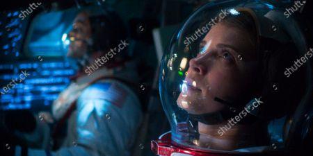 Joel Kinnaman as Edward Baldwin and Jodi Balfour as Ellen Waverly/Ellen Wilson