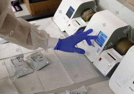 Editorial picture of Virus Outbreak-Testing Lag, Phoenix, United States - 15 Jun 2020