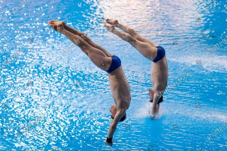 Editorial picture of FINA Diving Grand Prix 2020, Madrid Spain - 16 Feb 2020