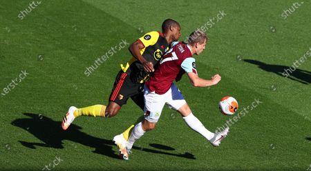 Editorial picture of Burnley vs Watford, United Kingdom - 25 Jun 2020