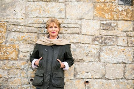"""Author Minette Walters at her home ahead of the release of her new book """"The Last Hours""""."""