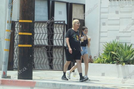 Editorial image of Celebrities out and about, Los Angeles, USA - 24 Jun 2020
