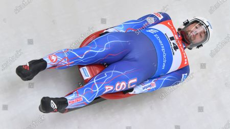 "United States's Chris Mazdzer speeds down the course during his first run at the men's luge World Cup race in Igls, Austria. The International Luge Federation is still planning for a full 10-race international season this fall and winter, though has yet to say what protocols will be added to deal with the coronavirus. ""I really think it's going to come down to just creating a safe environment, having people be comfortable and taking the right safety precautions,"" said Olympic silver medalist Chris Mazdzer, the longtime USA Luge slider and the athletes' representative on the FIL Executive Board"
