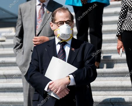 U.S. Representative Jerry Nadler (D-NY) attends a press conference ahead of the vote on the George Floyd Justice in Policing Act of 2020.