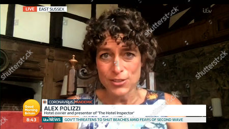 Stock Photo of Alex Polizzi