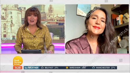 Stock Image of Lorraine Kelly and Jessie Ware