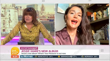 Stock Photo of Lorraine Kelly and Jessie Ware