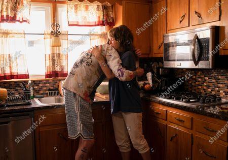 Pete Davidson as Scott Carlin and Marisa Tomei as Margie Carlin