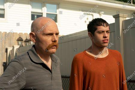 Bill Burr as Ray Bishop and Pete Davidson as Scott Carlin