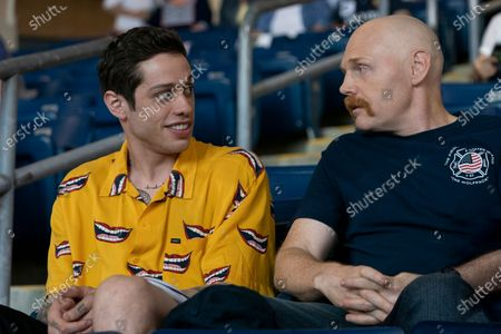 Stock Picture of Pete Davidson as Scott Carlin and Bill Burr as Ray Bishop