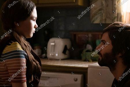 Brooklynn Prince as Hilde Lisko and Jim Sturgess as Matt Lisko