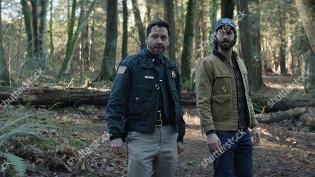 Stock Picture of Michael Weston as Lt. Frank Briggs, Jr. and Jim Sturgess as Matt Lisko