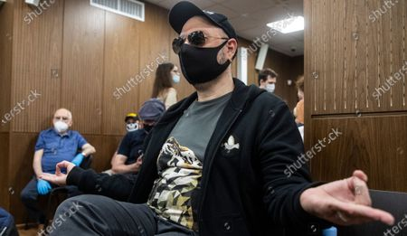 Russian film and stage director Kirill Serebrennikov prior to a verdict announcement at the Meschansky district court in Moscow, Russia, 26 June 2020. Moscow avant-garde theater Gogol Center artistic director Kirill Serebrennikov and other defendants in the so-called Studio Seven case are accused on being involved in the alleged embezzlement of state art funds allocated between 2011 and 2014 for the theatrical project Platforma. The prosecutor demanded for Serebrennikov six years in a penitentiary.