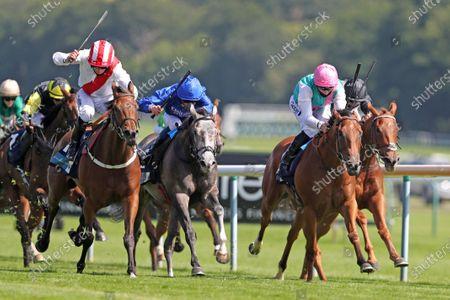 Editorial photo of Horse Racing from Haydock Races, UK - 25 Jun 2020