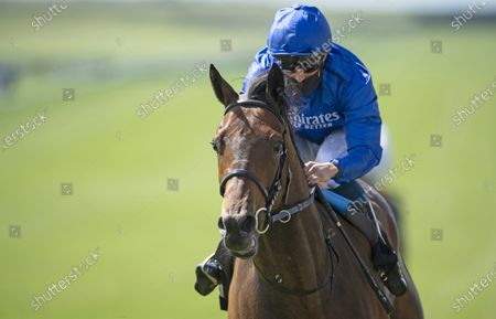 Editorial picture of Horse Racing from Newmarket Racecourse, UK - 27 Jun 2020