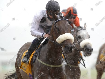 Judicial and Callum Rodriguez  winning The Betfair Backs Racing Welfair Chipchase StakesNewcastle 27.6.2020Dan Abraham, supplied by Hugh Routledge.