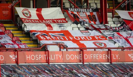 Supporters' Banners in the stand