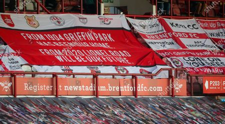 Farewell Griffin Park & Supporters' Banners