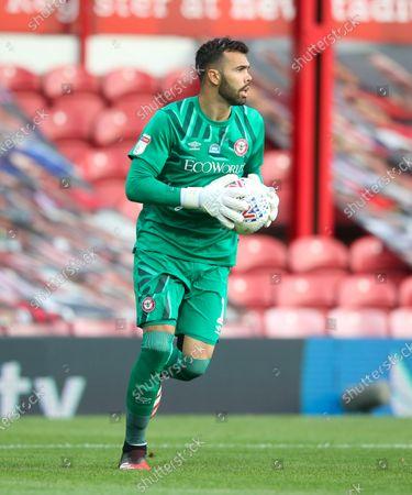Goalkeeper David Raya of Brentford