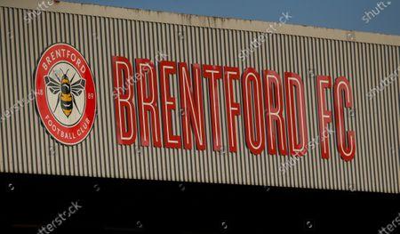 Griffin Park Brentford Logo/sign