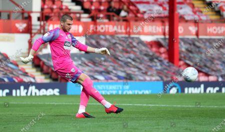 West Bromwich Albion Goalkeeper Sam Johnstone