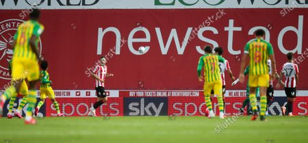 Stock Photo of skybet ad boards