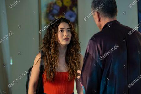Reina Hardesty as Beth and Hank Azaria as Jim Brockmire