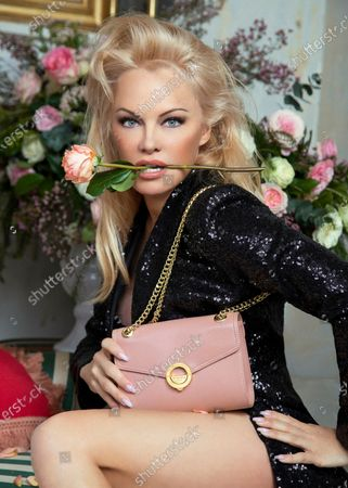 Former Baywatch beauty Pamela Anderson still looks in amazing shape aged 52, as she poses with her own collection of vegan handbags.Pam, an outspoken animal rights campaigner, has a capsule collection available now for eco-friendly label Ashoka Paris.The company's bags features leather-free vegan materials from Italy.The inner linings are made from recycled plastic bottles.Pam's collection, Pamela Anderson X Ashoka Paris, is available now from the company's Ashokaparis.com websiteThe star is a vociferous advocate for cruelty-free fashion items.Anderson famously sent one her favourite faux furs to reality TV star Kim Kardashian West and more recently has been lobbying fashion label Prada to drop the fur in all collections.Now she has put her name to a range of vegan bags from a brand who is committed to truly ethical fashion thanks to its certification from animal rights organisation PETA.Prices range from Û230 for the pouch bags in nude, black, terracotta and red to Û270 for the box bags in the same choice of colours.The clasps feature the collection's name.Pix: Pamela Anderson with a pouch bag from her Pamela Anderson X Ashoka Paris collection.