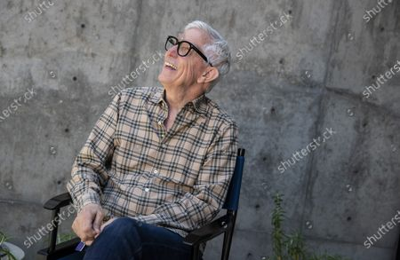 Stock Image of Veteran LA weatherman Fritz Coleman sits for portraits outside the Brokaw News Center on the Universal Studios lot on Wednesday, June 24, 2020 in Universal City, CA. Coleman is retiring after 39 years; his final day is June 26. (Brian van der Brug / Los Angeles Times)