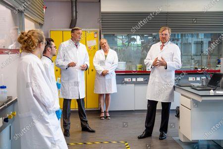 Editorial photo of King Willem Alexander visit to Avans University, Breda, The Netherlands - 26 Jun 2020
