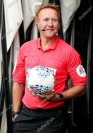Referee Oliver Langford
