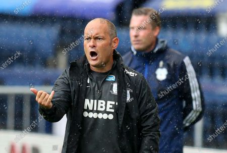 Alex Neil manager of Preston North End